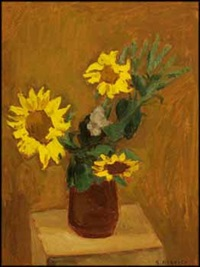 sunflowers by william goodridge roberts