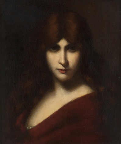 la belle fille by jean jacques henner