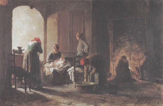 scène de famille by antoine jean bail