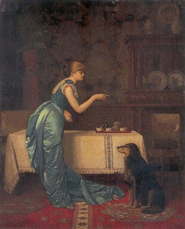 training for tea by august hector cabuzel