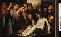 la resurrezione di lazzaro by lazzaro tavarone