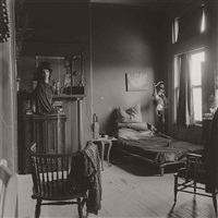 nancy bellamy's bedroom, n.y.c by diane arbus