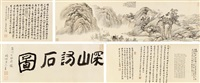 深山访石图 by dai xi
