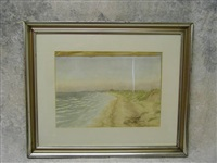beach scene by alexander stirling calder