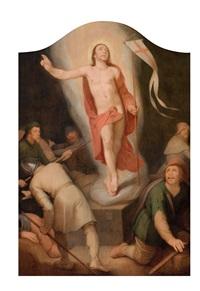 christi auferstehung by cornelis cornelisz van haarlem
