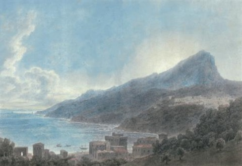vietri and raito by john robert cozens