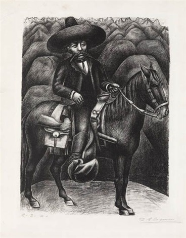 zapata by david alfaro siqueiros