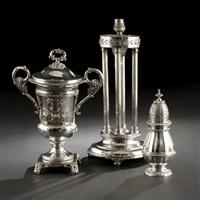 silver caster by francisco ferreira valente