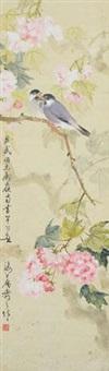 海棠白头 by huang huanwu