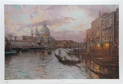 venice by thomas kinkade