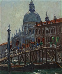 st. mark's, venice by john william (sir) ashton