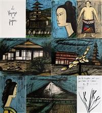 le voyage au japon (100 works) by bernard buffet