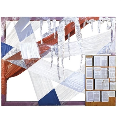 relief abstrait no. 825 by thomas hirschhorn