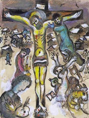 La Descente Du Croix By Marc Chagall On Artnet