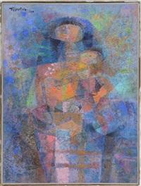 blue madonna by romeo v. tabuena