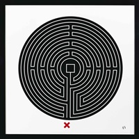 labyrinths by mark wallinger
