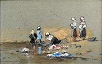 washerwomen by nita spilhaus
