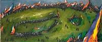 festival, la danse sur l'herbe by nemesio antunez