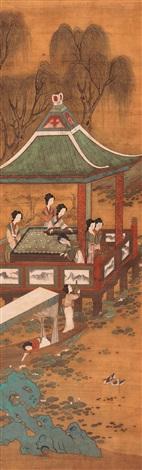figure painting by wang zhenpeng