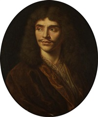 portrait de molière by pierre mignard the elder