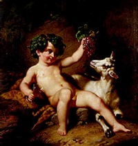 the young bacchus by paul emil jacobs