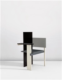 berlin chair by gerrit thomas rietveld