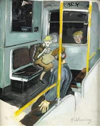 tunnelbanan by lars hillersberg