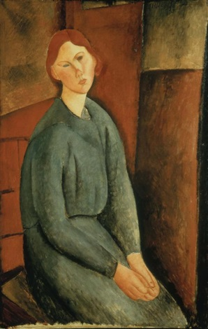 portrait de anne bjarne by amedeo modigliani