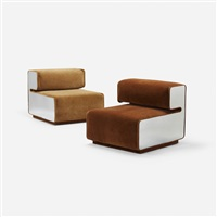 lounge chairs (pair) by pierre cardin