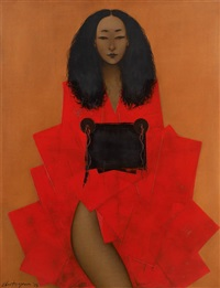 le kimono rouge by aris antoyan