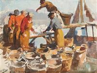 le déchargement des poissons by kurt peiser