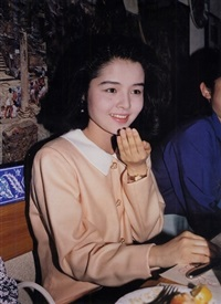 girl with white face, tokyo by paul graham