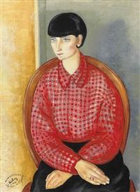 portrait de mija by moïse kisling