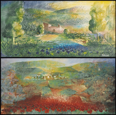 paesaggio paesaggio 2 works by alvaro peppoloni