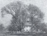autumn in old lyme by walter griffin
