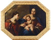 matrimonio mistico di santa caterina by andrea vaccaro