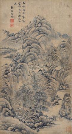 古寺钟声 by tang dai