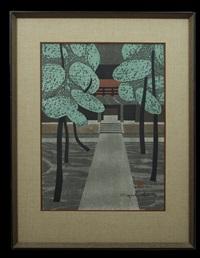 miyoshin-ji kyoto by kiyoshi saito