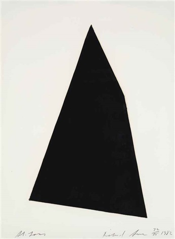 st louis from a portfolio of thirteen prints to commemorate the anthology film archives by richard serra