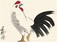 鸡 by lin ximing