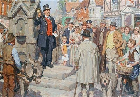 the town crier by william r stott