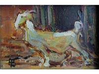 goat by adriaan hendrik boshoff