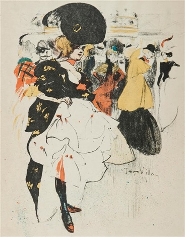 au moulin rouge by jacques villon