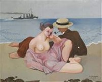 le couple by alfred courmes