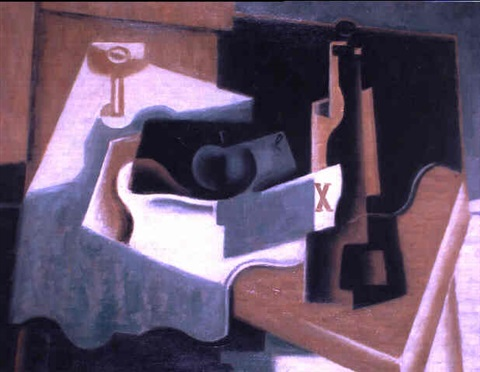 Nature Morte A La Lettre X By Jean Metzinger On Artnet
