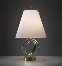 early and rare table lamp by pietro chiesa