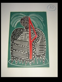 orishas (+ 2 others; 3 work, various dates & sizes) by karima muyaes
