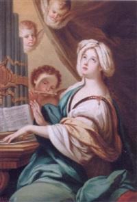 den hellige cecilie by achille leonardi