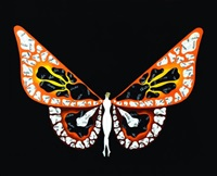 femme papillon by erté