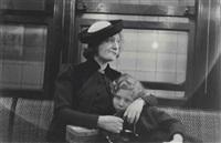 subway portrait, c. 1938-41 by walker evans